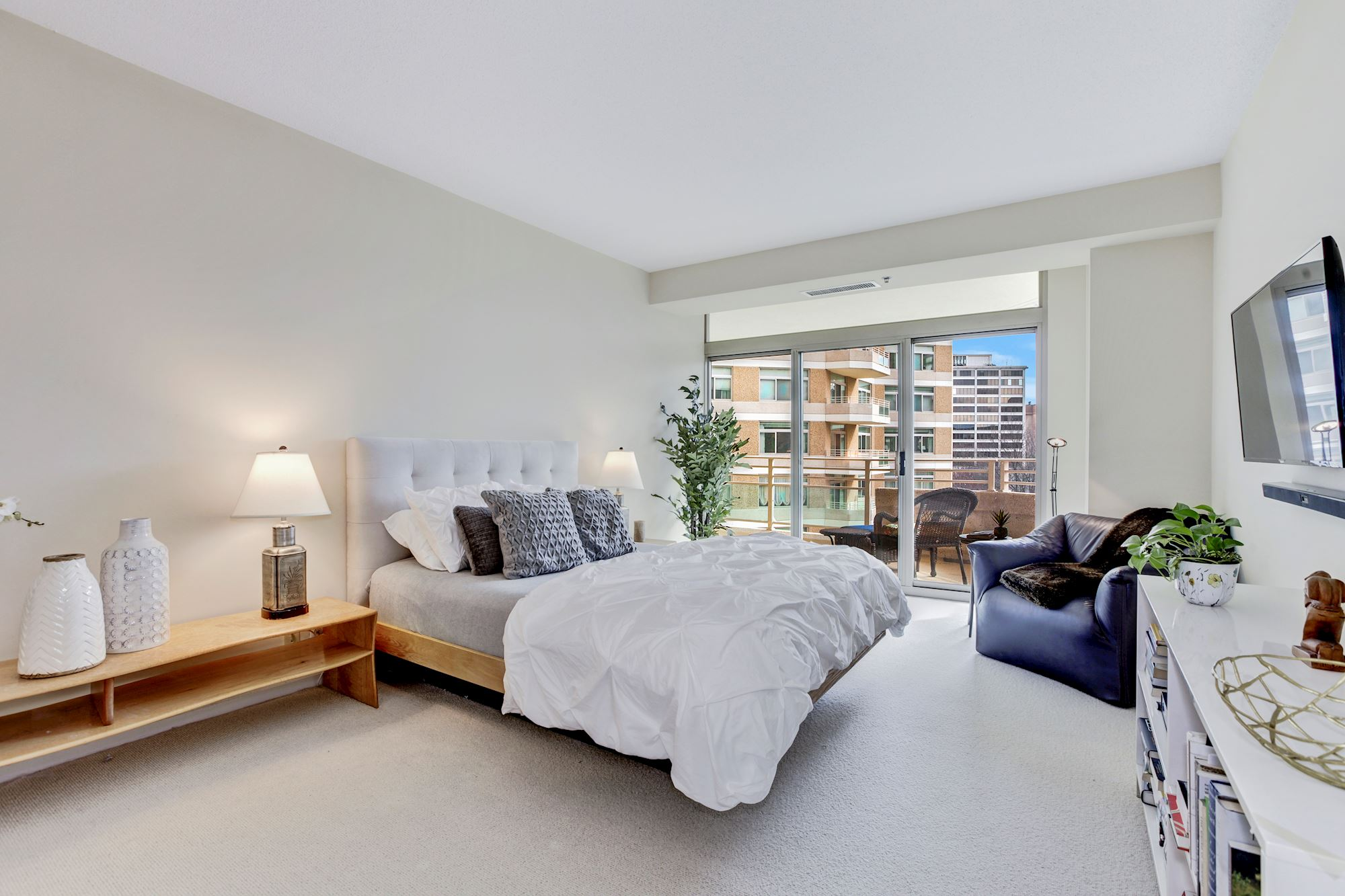 Master Bedroom with Terrace Access