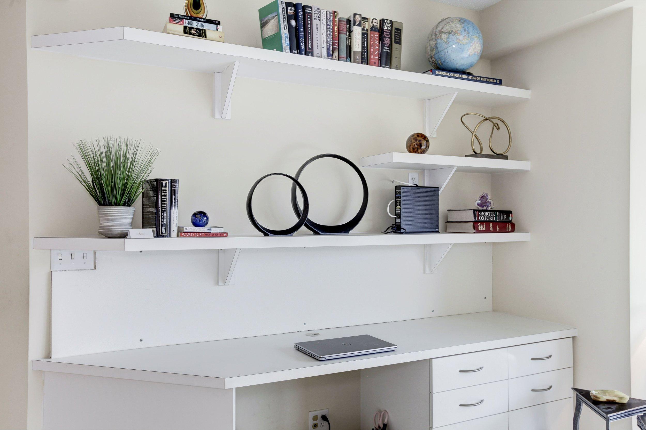 Bedroom Two with Custom Desk