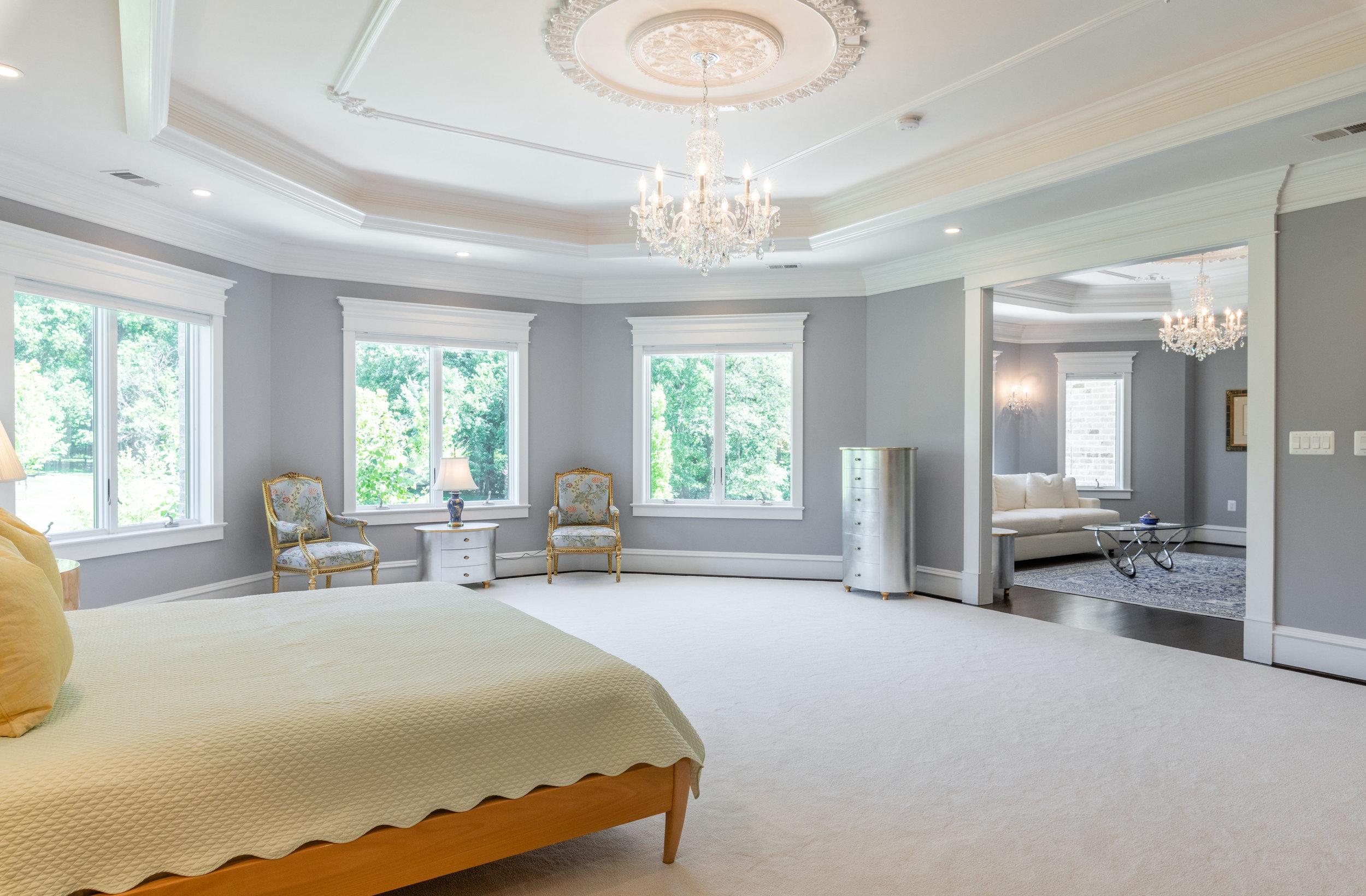 Master Bedroom adjoins private Sitting Room