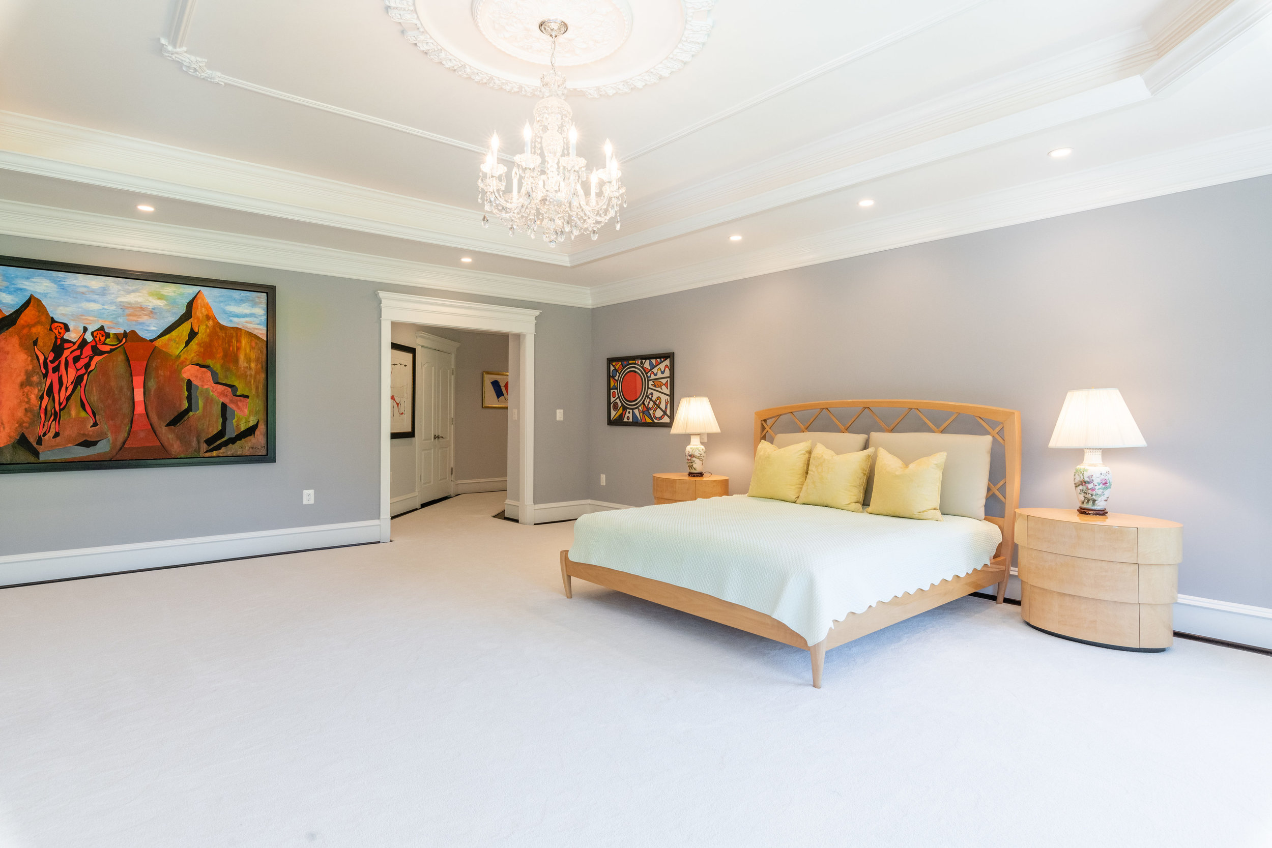 Master Bedroom features Three Spacious Walk-in Closets