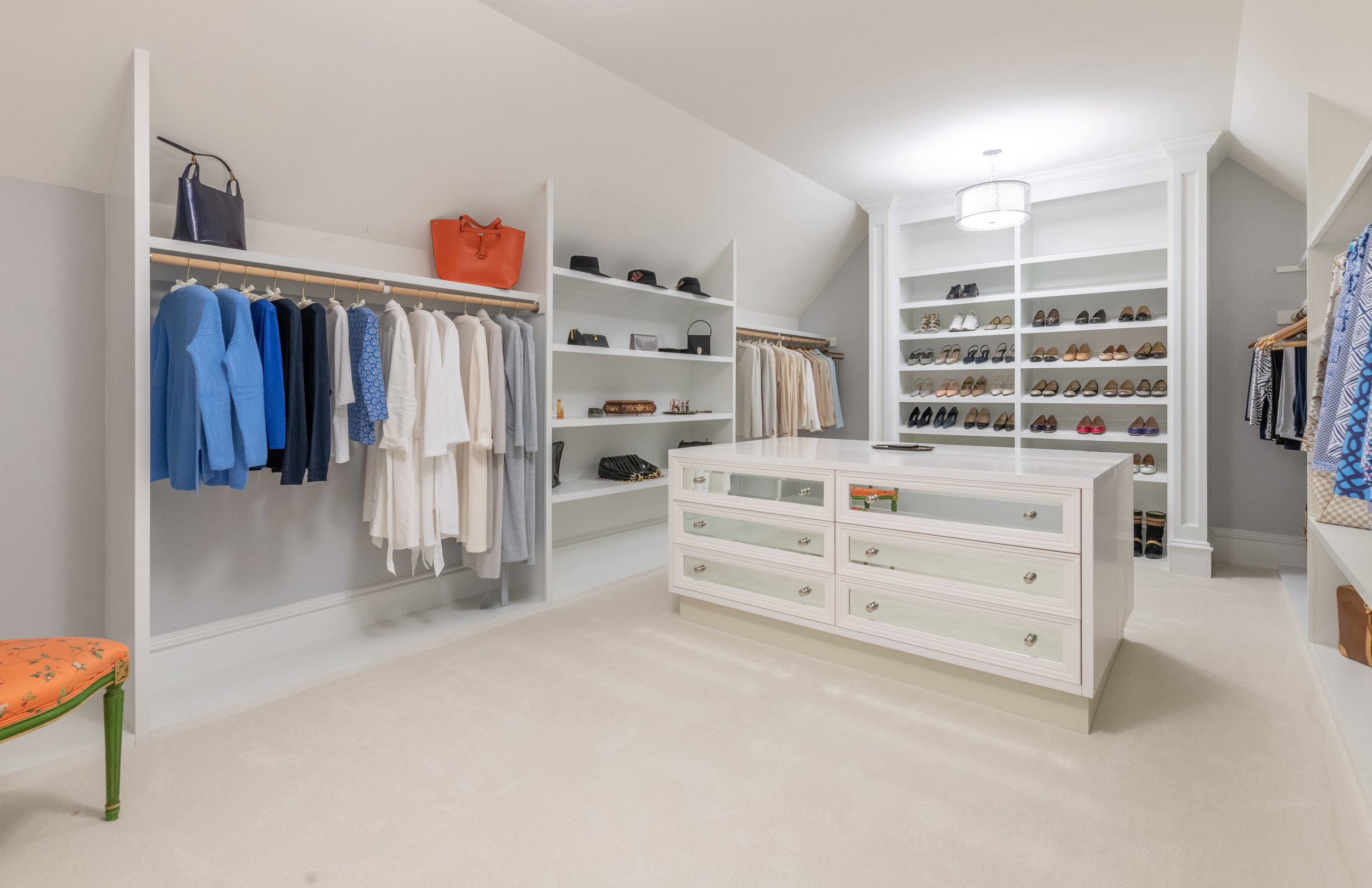 Master Dressing Room 3 features custom dressing table