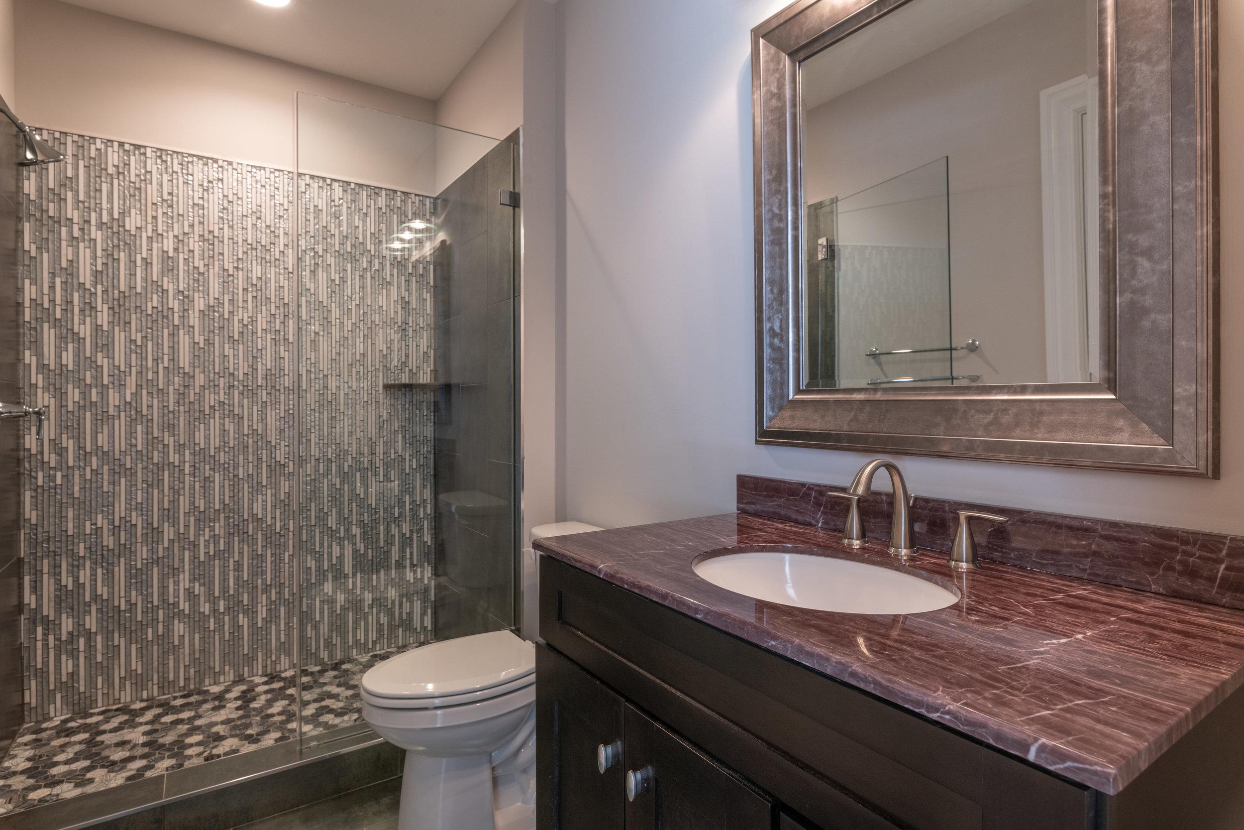 Lower Level Guest Suite Full Bathroom