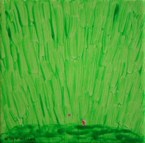 GREEN PAINTING 2