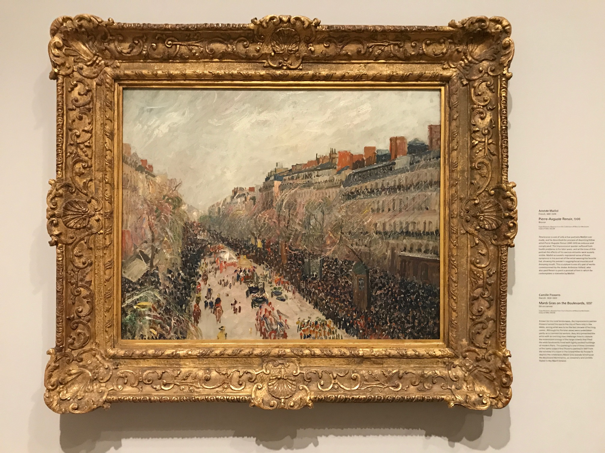 Pissaro at the Fogg Museum