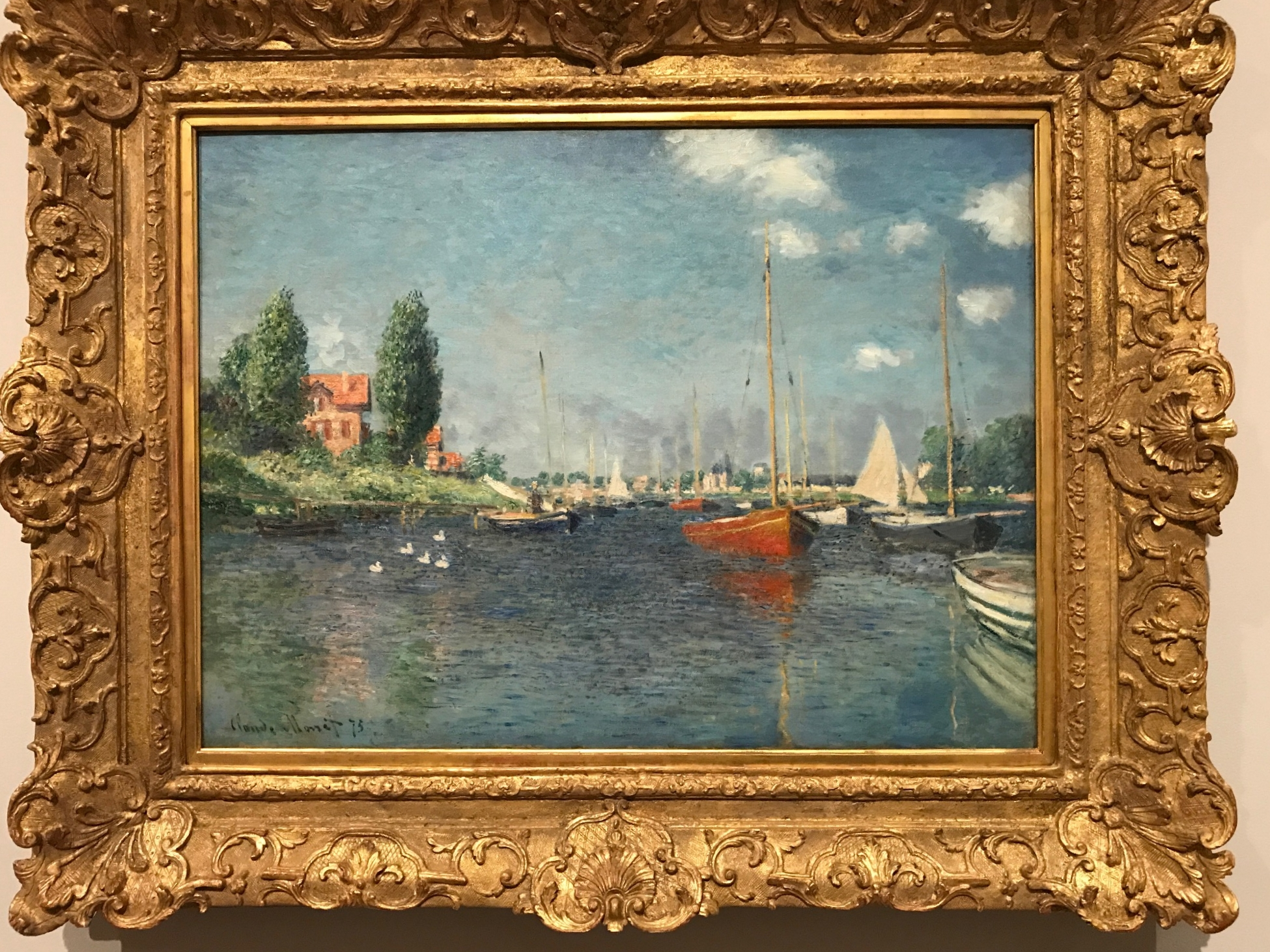 Monet at the Fogg Museum
