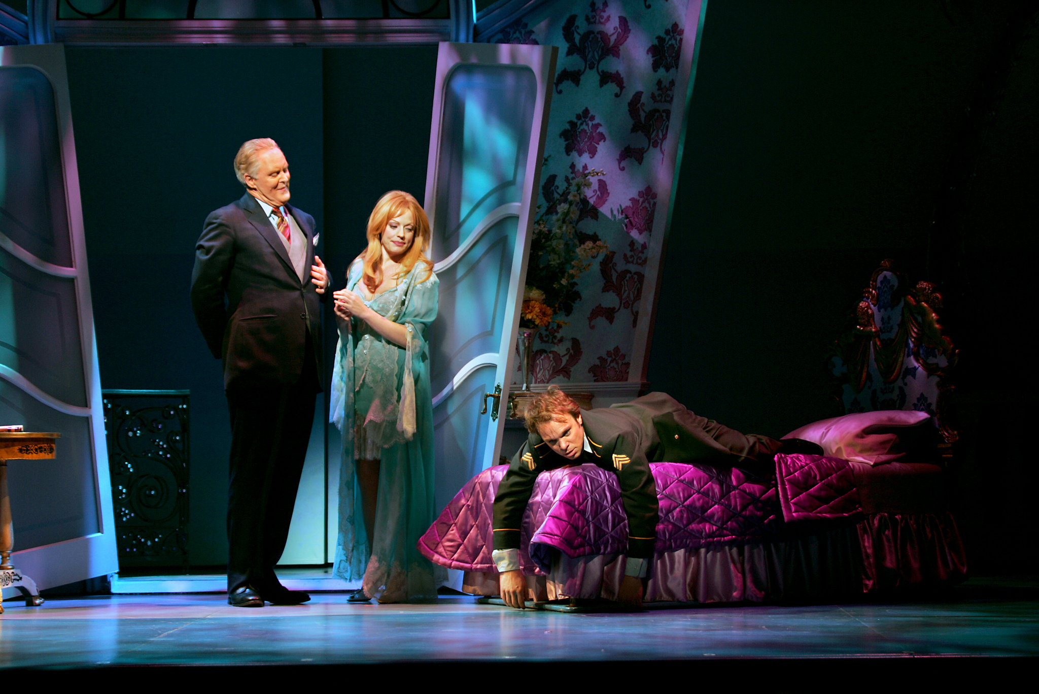 Christine,  Dirty Rotten Scoundrels   Photo: Sara Krulwich, The New York Times