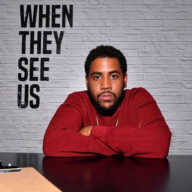 Whose ready to cry with me tonight? @whentheyseeus streaming now on Netflix 🙌🏽 @jharreljerome aka Korey Wise 🙏🏽✨ #beronbeauty #mensgrooming #jharreljerome #whentheyseeus #netflix #wearetheonly