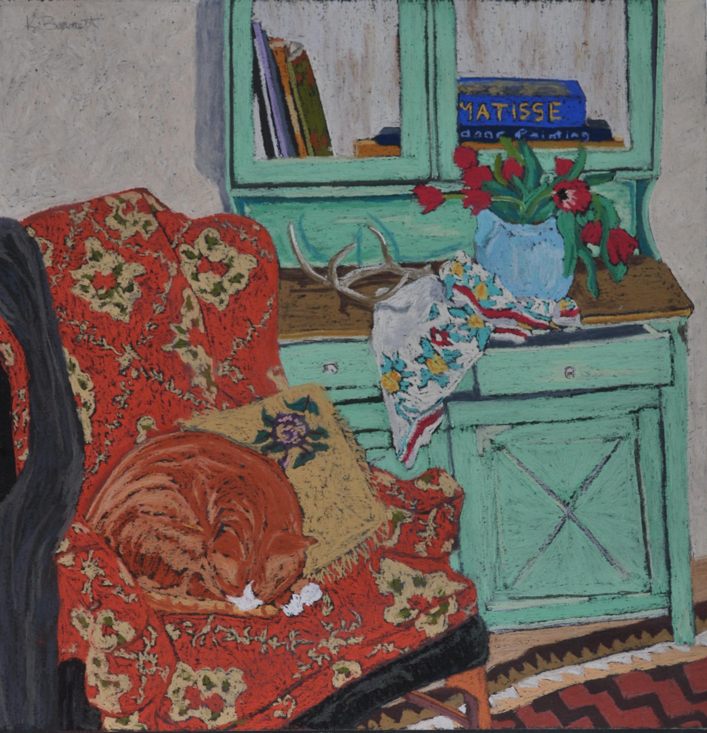 Studio Cat with Matisse
