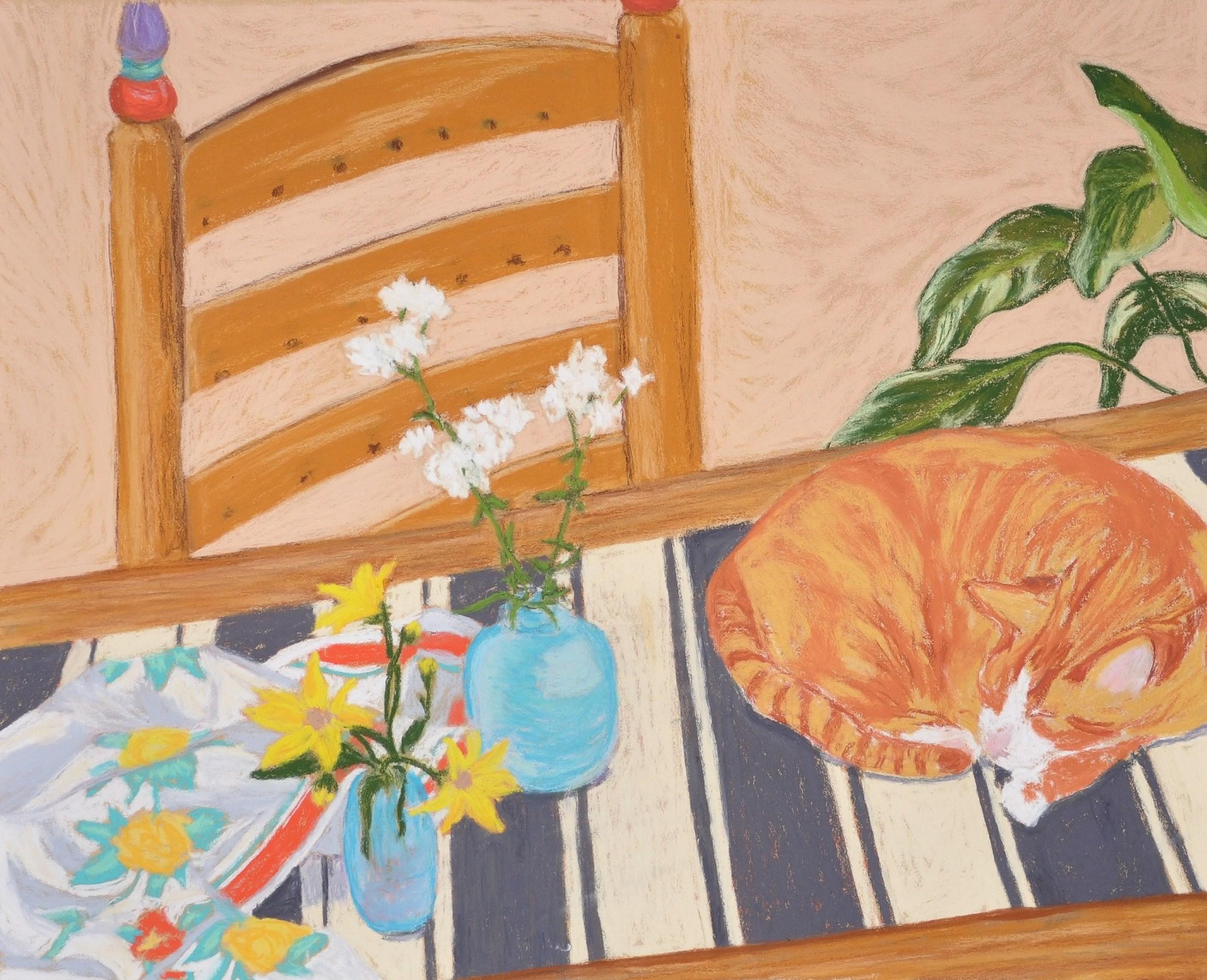 Mr. Orange Studio Cat