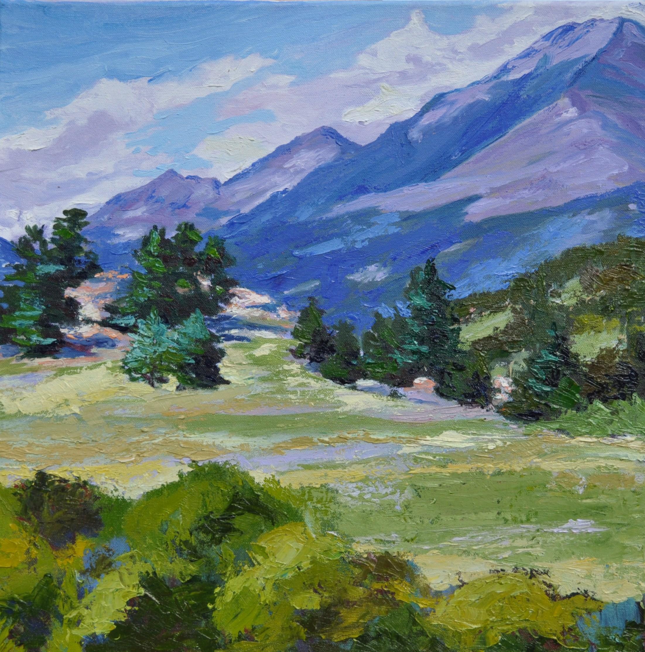 Mount Meeker from Hwy 7
