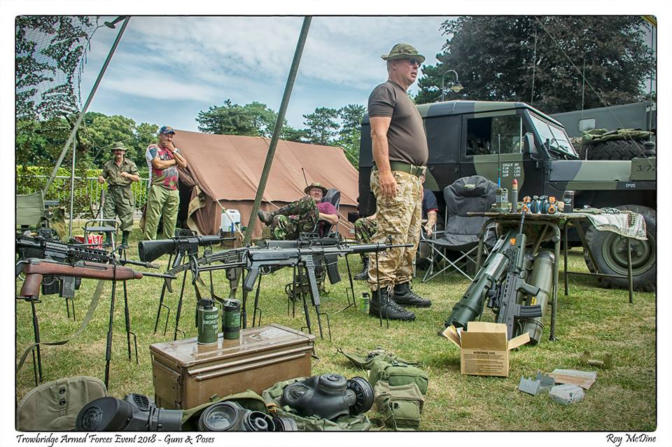REENACTMENT GROUPS/LIVING HISTORY — Wiltshire Armed Forces and