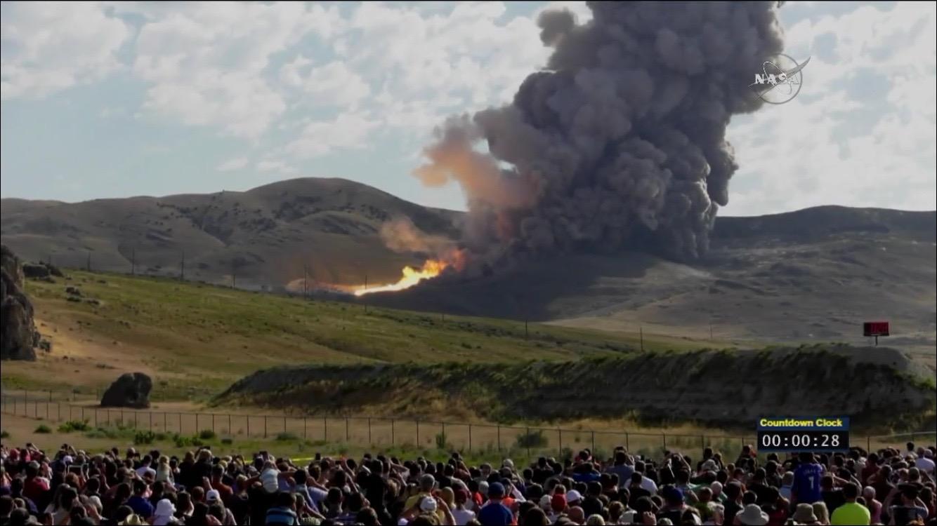 Image courtesy of NASA TV