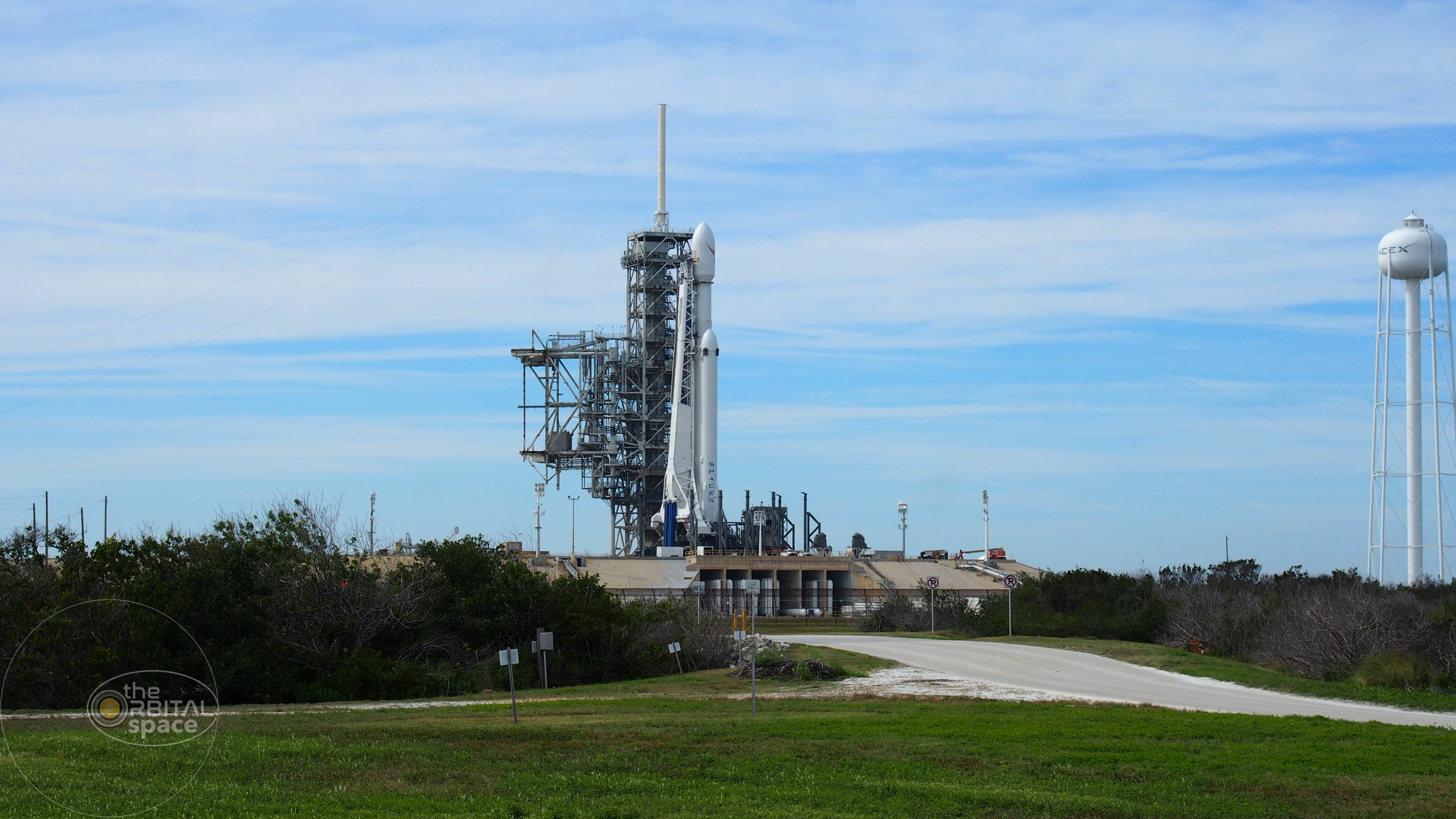 SpaceX Falcon Heavy at LC-39A