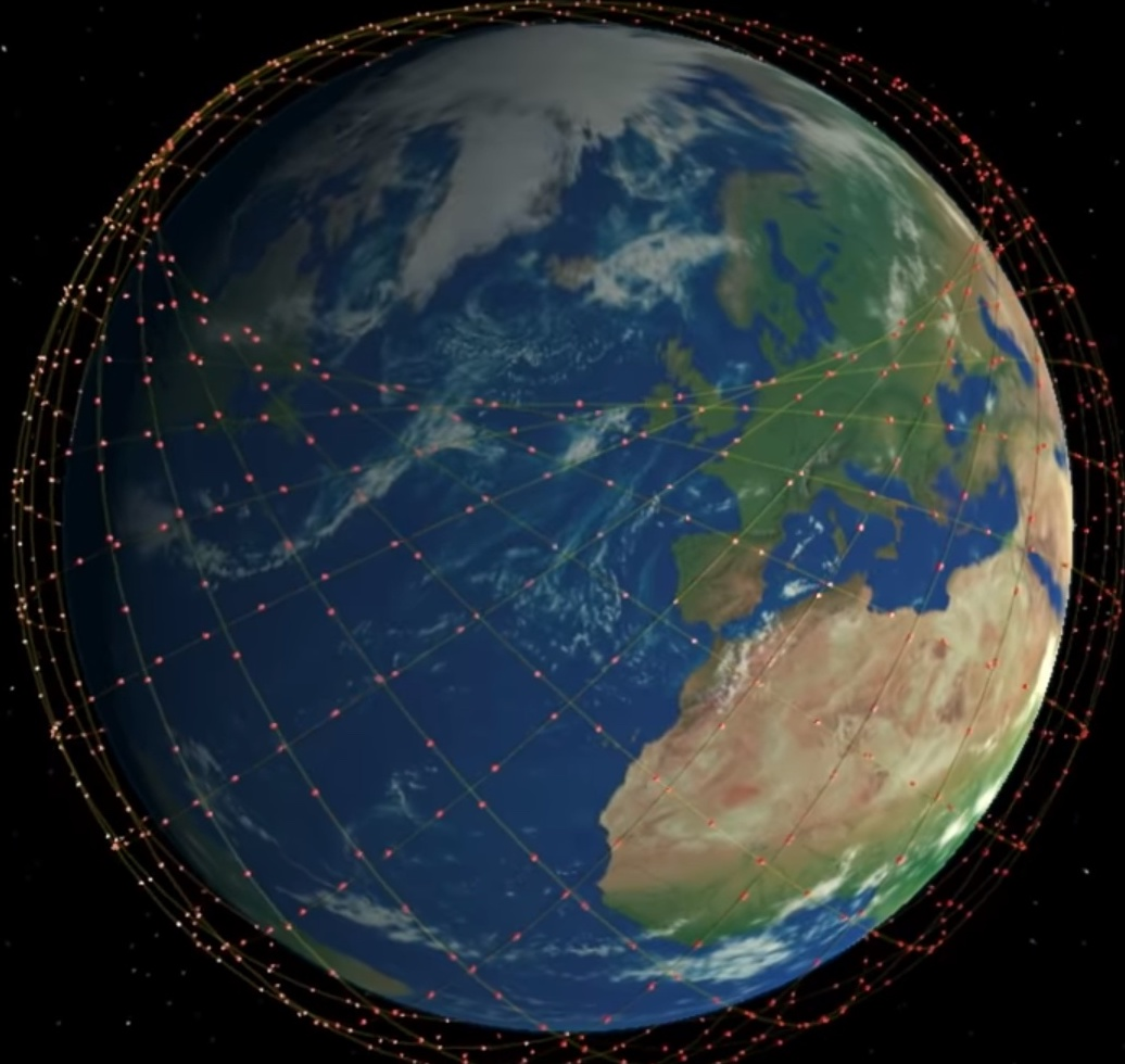 """""""…continual coverage around the world using a network of thousands of satellites in low Earth orbit."""" - Powered by krypton, SpaceX's Starlink satellites will use Hall thrusters for orbital maneuvering after deployment, and will reach an operational altitude of 550km (341.75 miles)."""