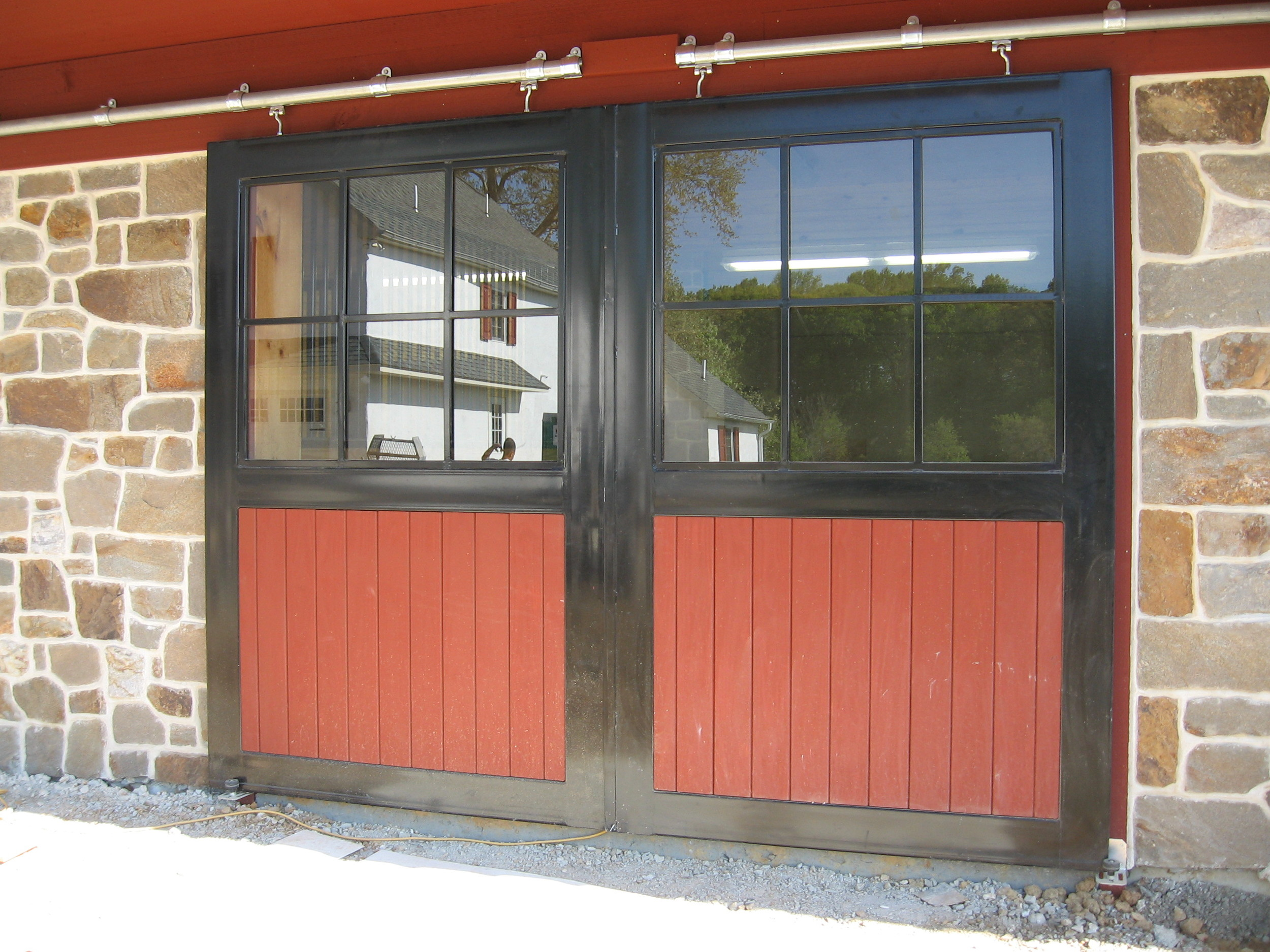 Barn End Doors