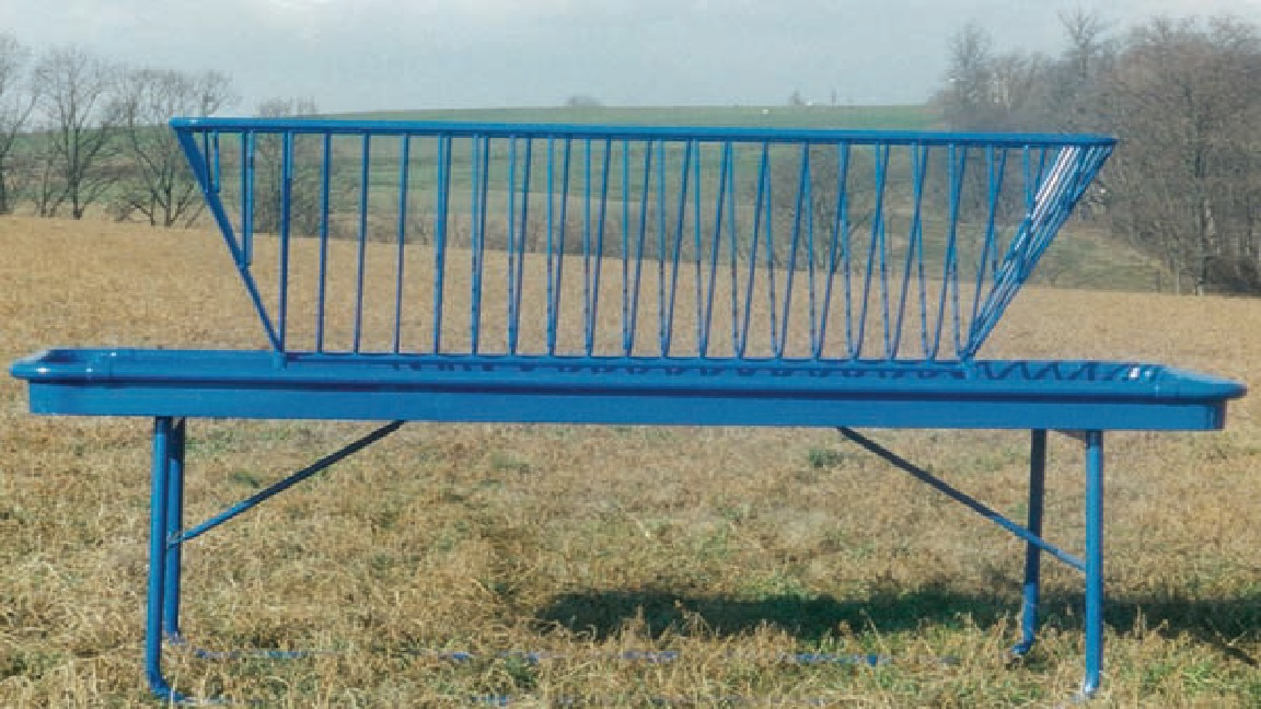 Rectangle Hay & Grain Feeder - Available in 4'x8' or 4'x10'