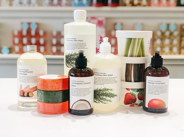 ❤️our new summer lineup!❤️ one of everything, please @saltspringsoap! #new #swishflowers