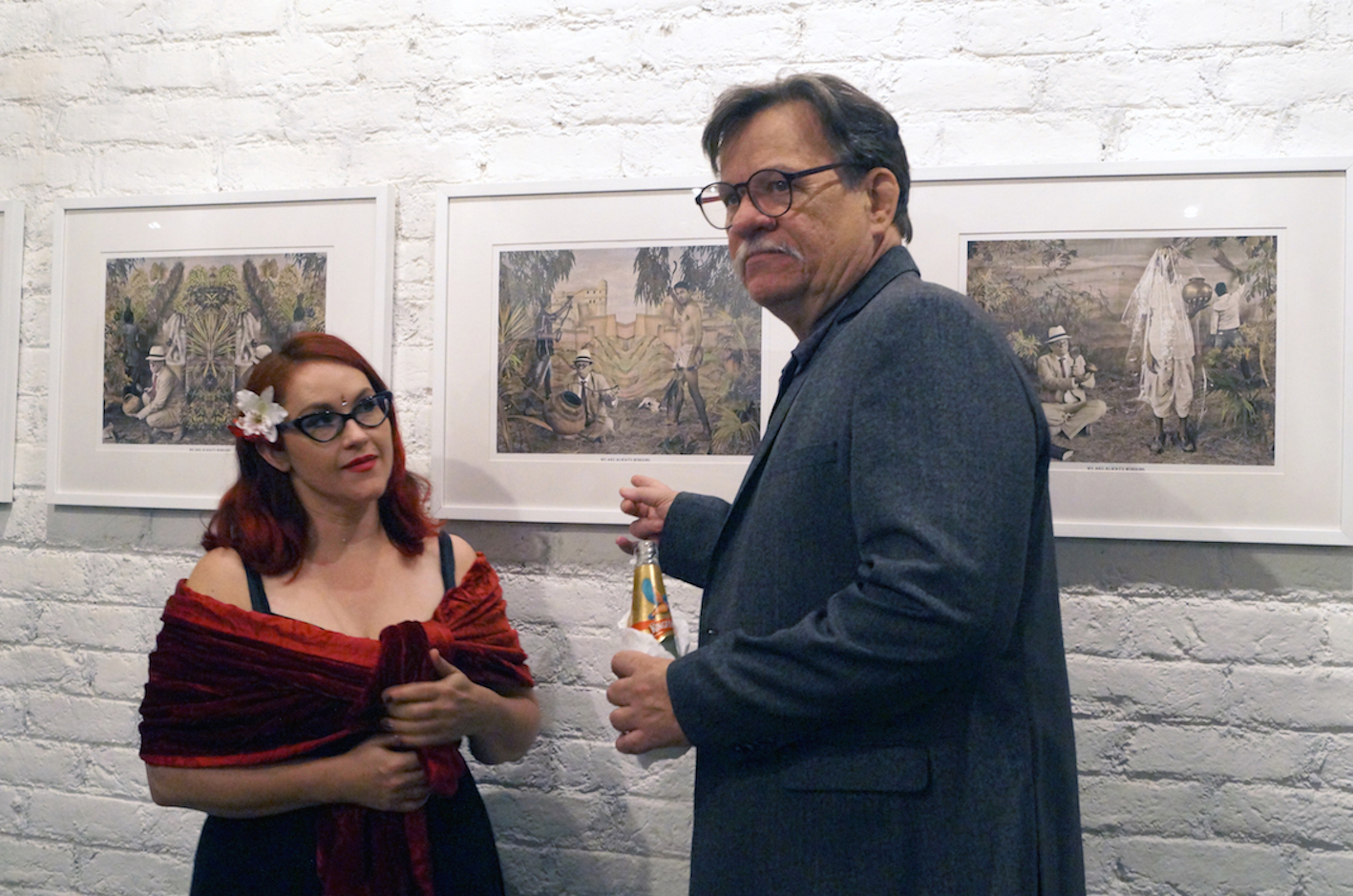 Was X. Waswo with Maya Kóvskaya  | From the opening night