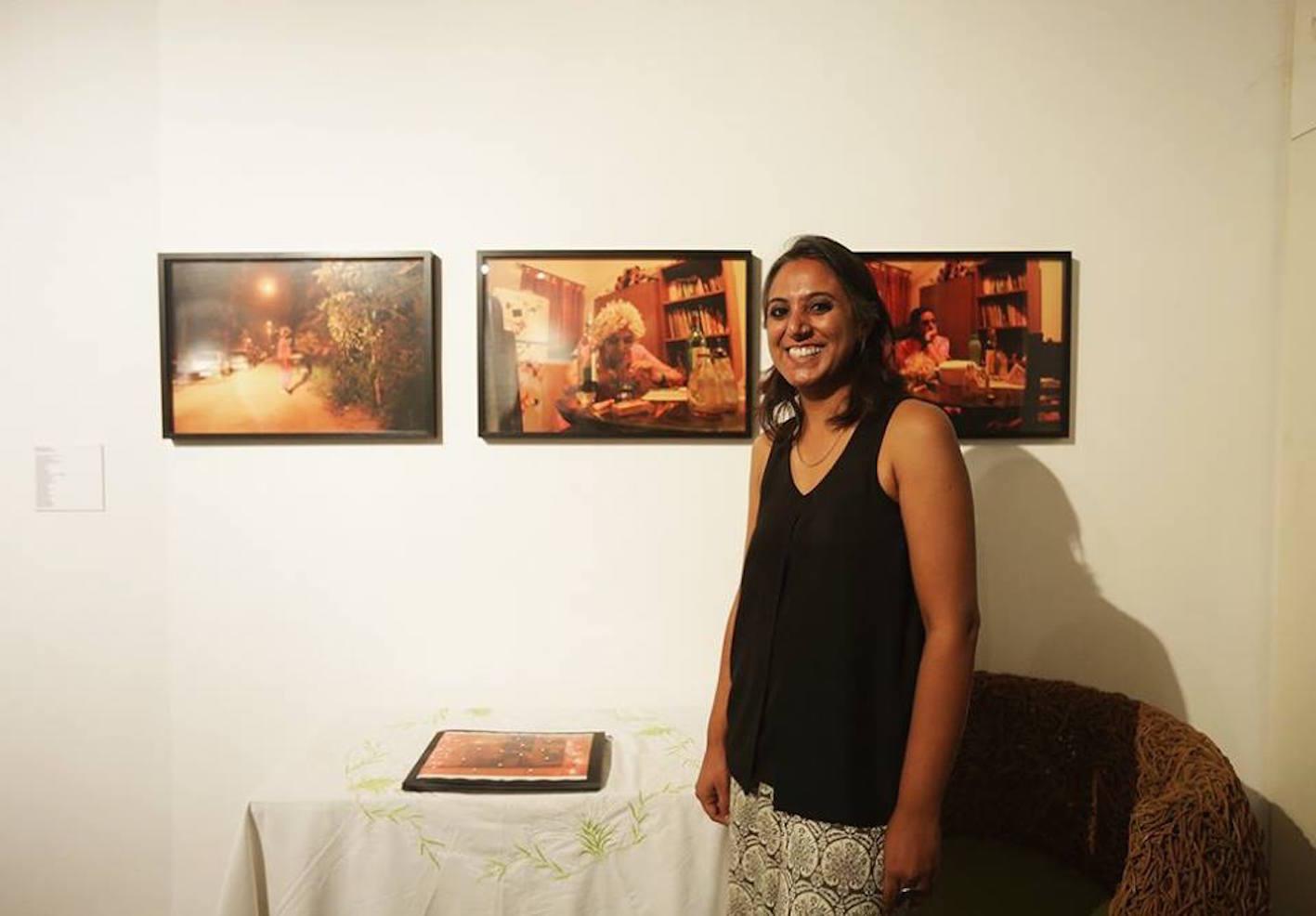 Manmeet Devgun with her work Home Residency