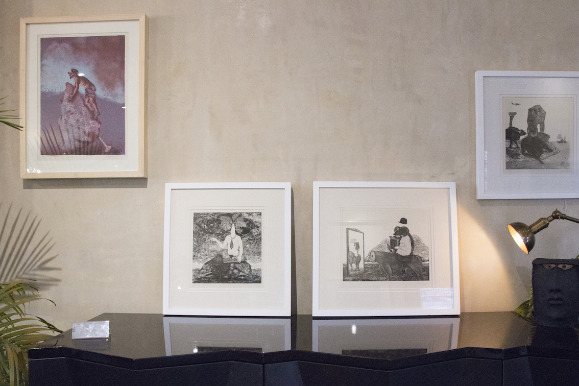 Top Left- Lithograph by Subrat Behera, others are etchings by Ryan Abreu.jpg