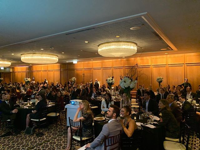 A wonderful crowd raising funds for Pancreatic Cancer  research @bobs_encore  Currently playing a video we helped create.  @alikatek did a terrific job on this edit.