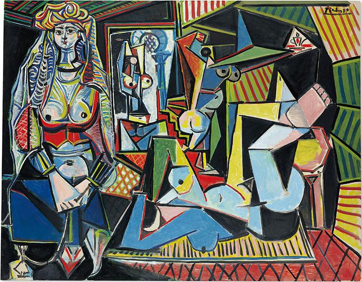 Pablo Picasso, Les femmes d'Alger (Version 'O'), 1955