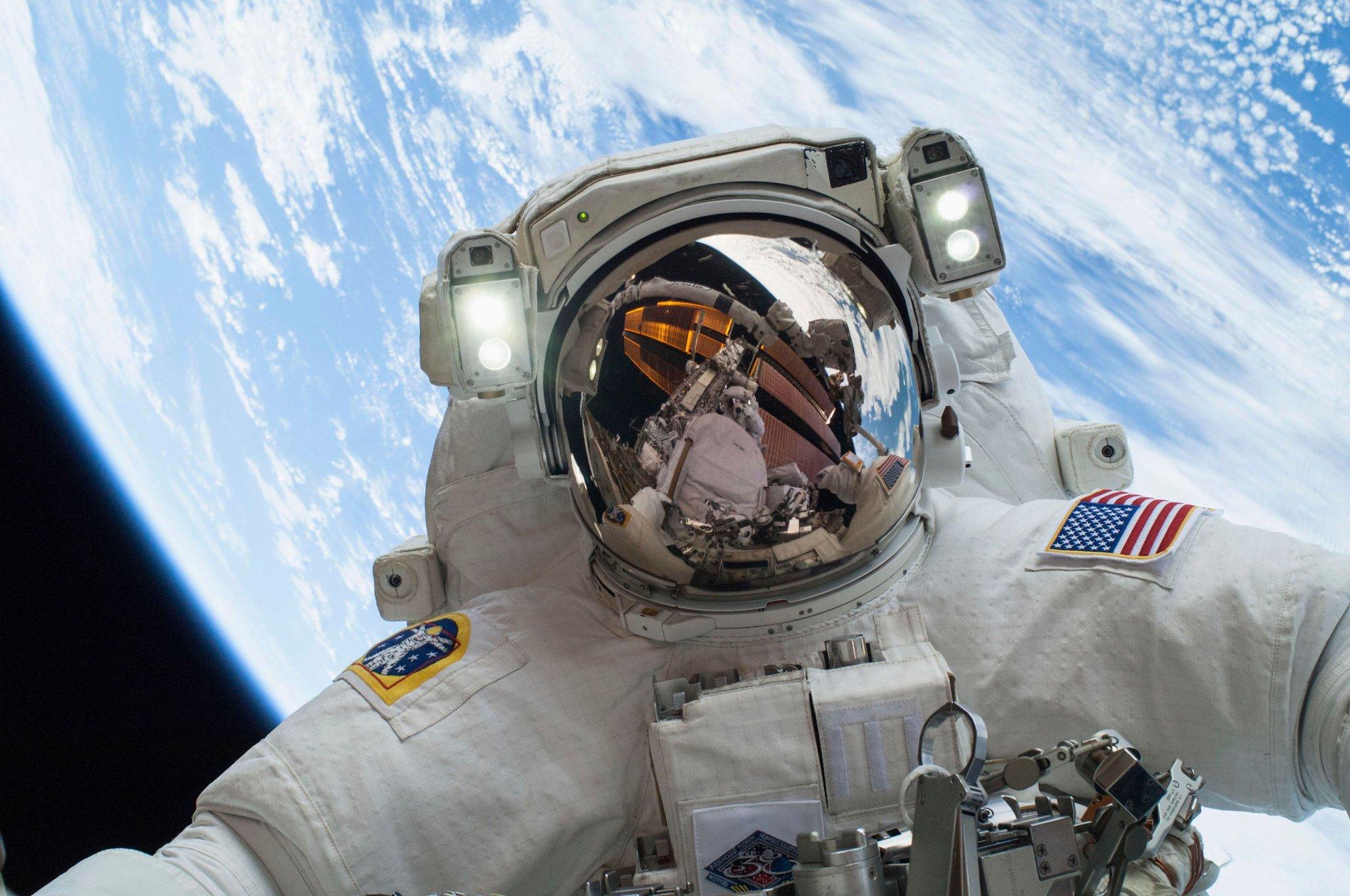 A Selfie in Space