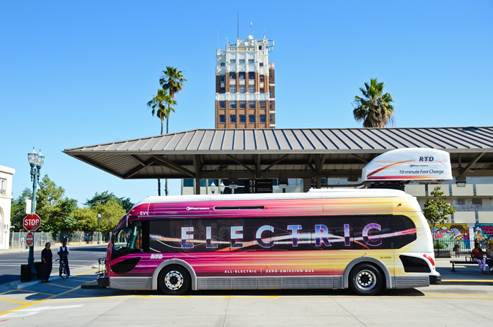 San Joaquin Valley's electric bus
