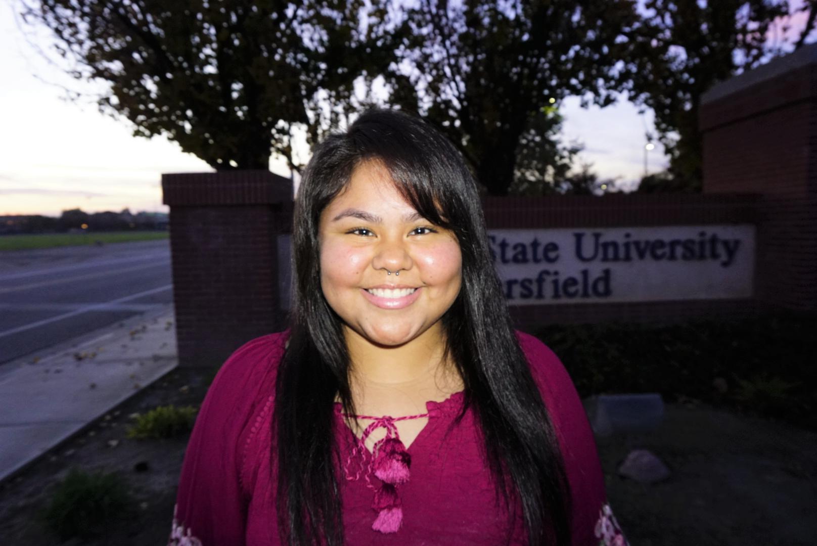 Isabel Lopez, CalBio's first intern