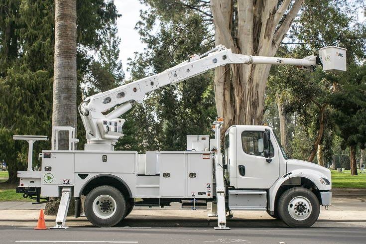 Clean off-road equipment vouchers Zero Emission cherry picker