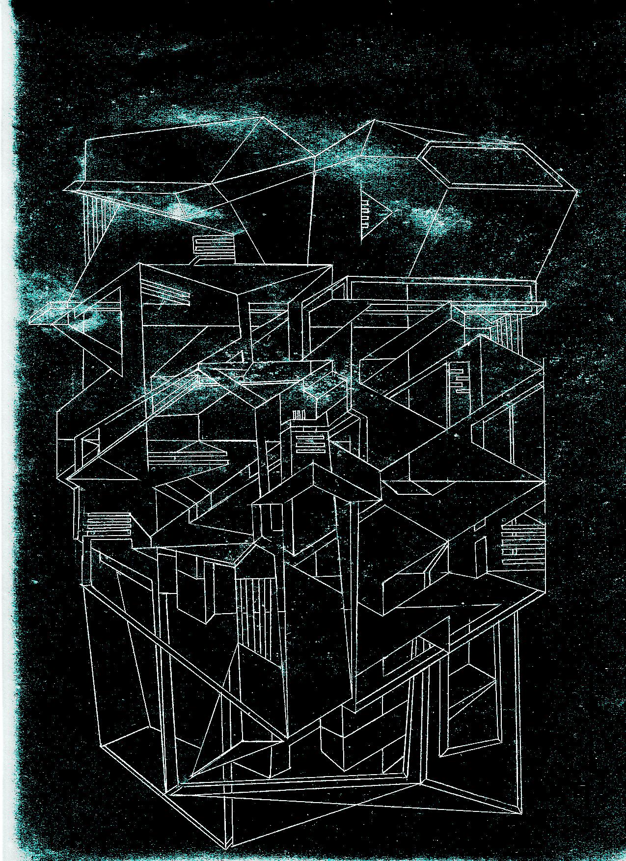"""Cover art for Hybegnu CD - """"SHE MASK"""" (2011)"""
