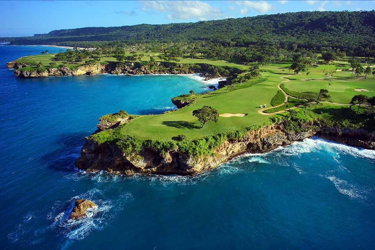 Golf course, Dominican Republic