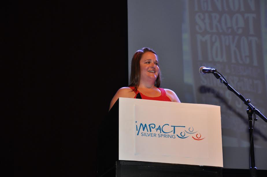Megan Moriarty Receives Economic Momentum Award