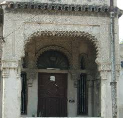 You can see evidences of the original beauty in the tile work and entrances.