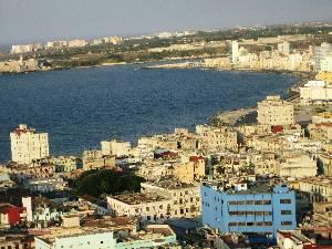 Havana sits on a beautiful bay