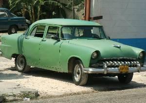 Lots of 50's era cars...
