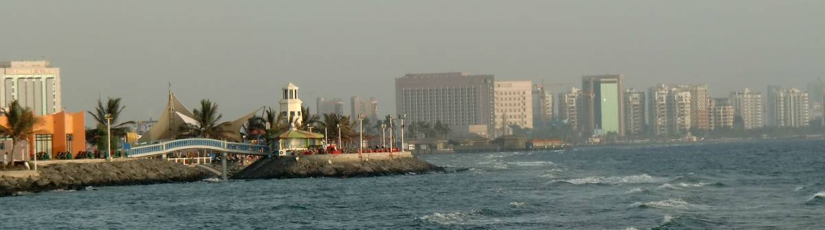 Jeddah is a beautiful city on the Red Sea, somewhat more cosmopolitan than much of the rest of the country.