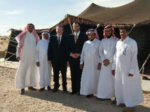 The camel farm was owned by a large family of brothers, some of whom are pictured here with us. I think that the next time we must ditch the suits. Kinda hot.