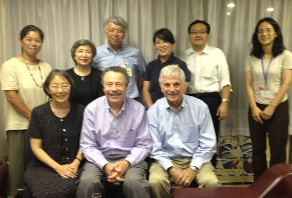Dr. Nagao has good connections with the YMCA in Japan and we had meetings with some of their staff.