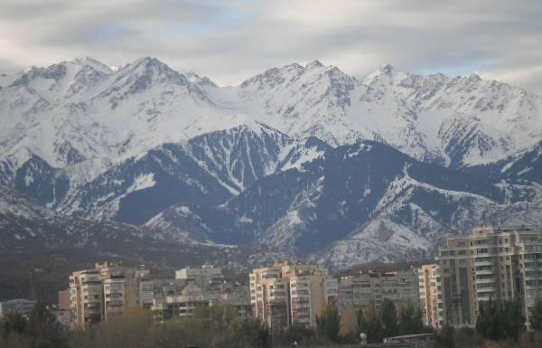 In Kazakhstan, our week was spent in Almaty, a beautiful city in the foothills of a beautiful mountain range in Southeast Kazakhstan.