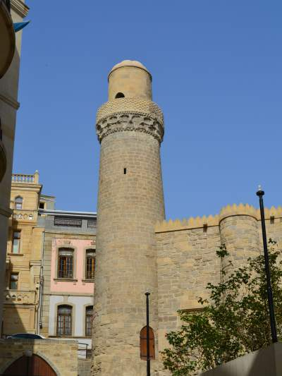 The Maiden's Tower in Central Baku.