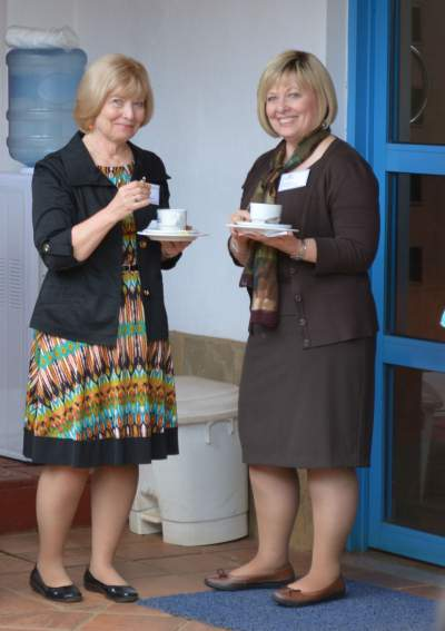 Can you tell which special educator is Sharon and which is Karen?