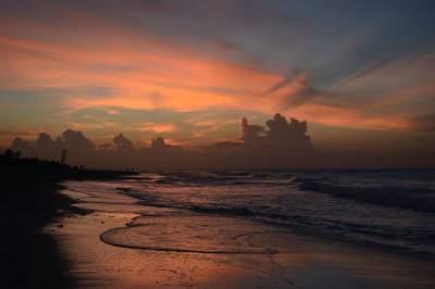 Cuba has beautiful sunsets.