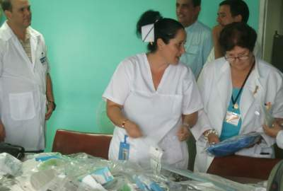 Often the medical supplies we donated were used by that afternoon.