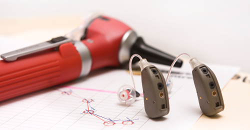 Photo of Hearing Aids and Otoscope