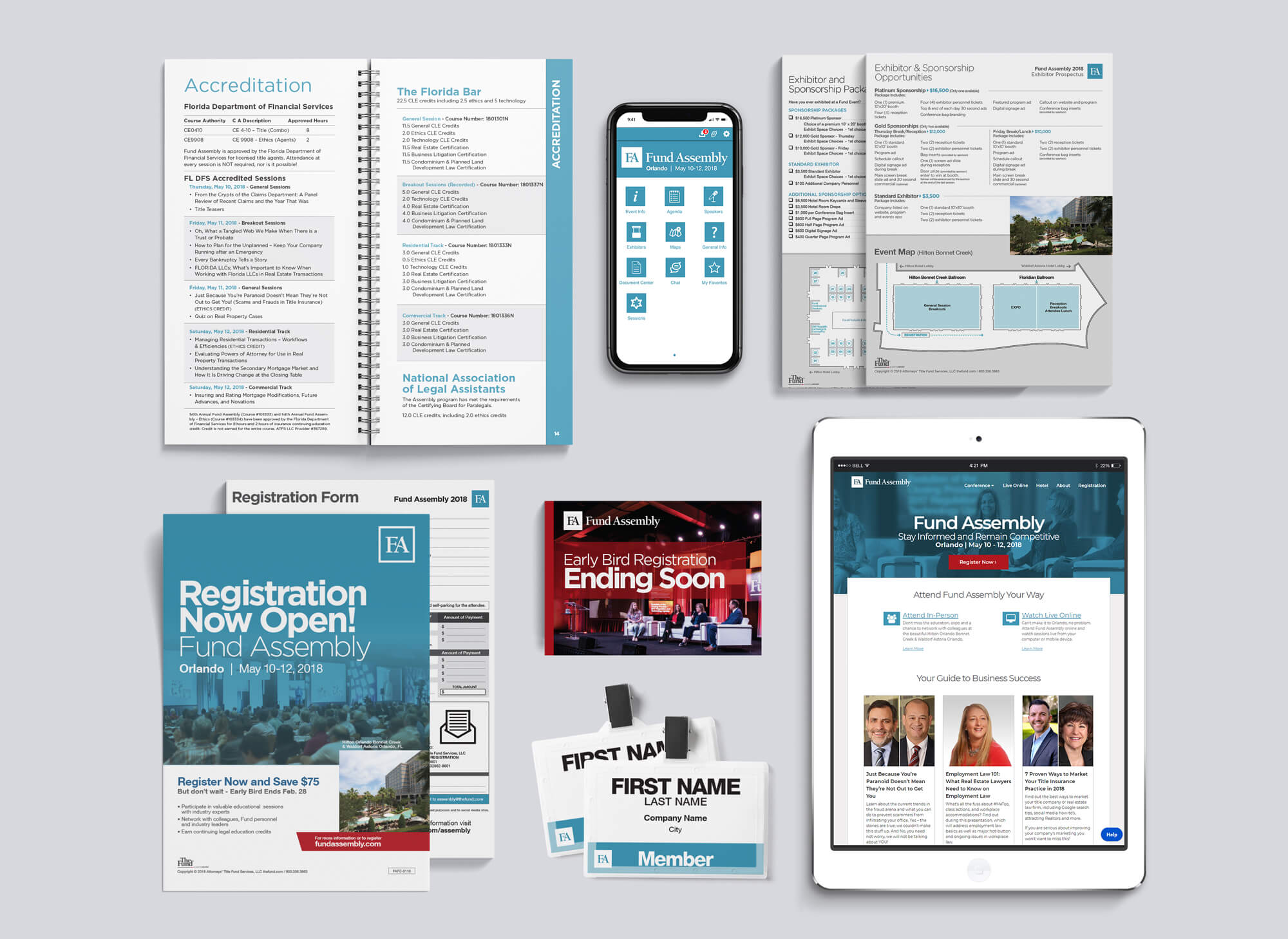 Fund Assembly Event Marketing Collateral