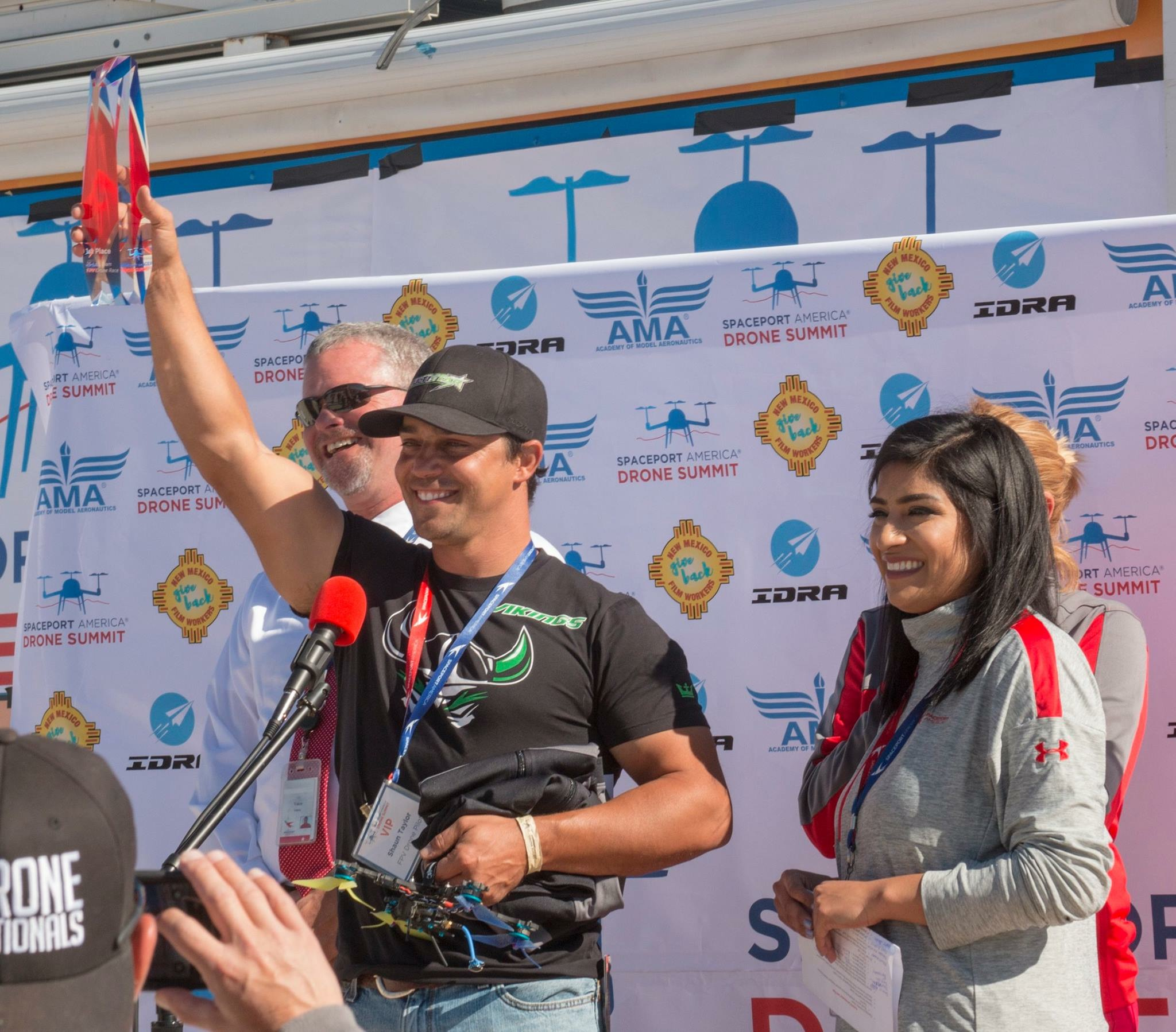 1st Place-Spaceport America Drone Summit