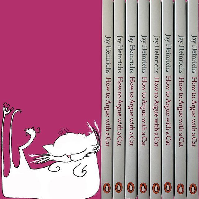 Is it on your bookshelf yet? 😬Have a snoozy #caturday evening! Hello especially to my buddies in #BuckhurstHill tonight - Everyone is particularly happy after the football result. 🤗🐾⚽️🐾⚽️🐾⚽️ #HowToargueWithACat #cat #cats #persuasion #sleepycat #lazycat #ilovemycat #kitten #kittens #book #bookworm #naughtykittens #crazycatlady #catsandbooks #newkitten #ilovebooks #chat #neko #gato #gatto #ilovemycat #crazycatladyproblems #catsofinstagram #catsandbooks #booksandcats #booksofinstagram #jayheinrichs #nataliepalmersutton