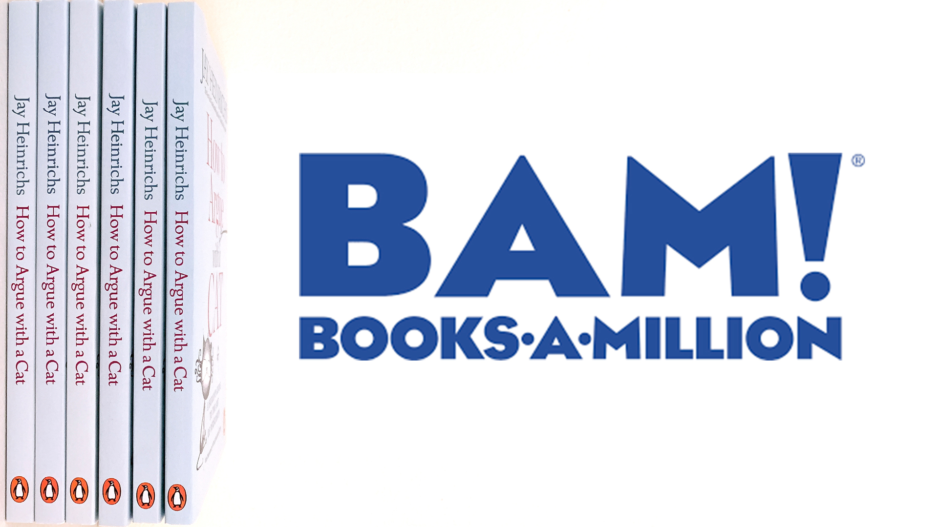 BAM! Books A Million | How To Argue With A Cat