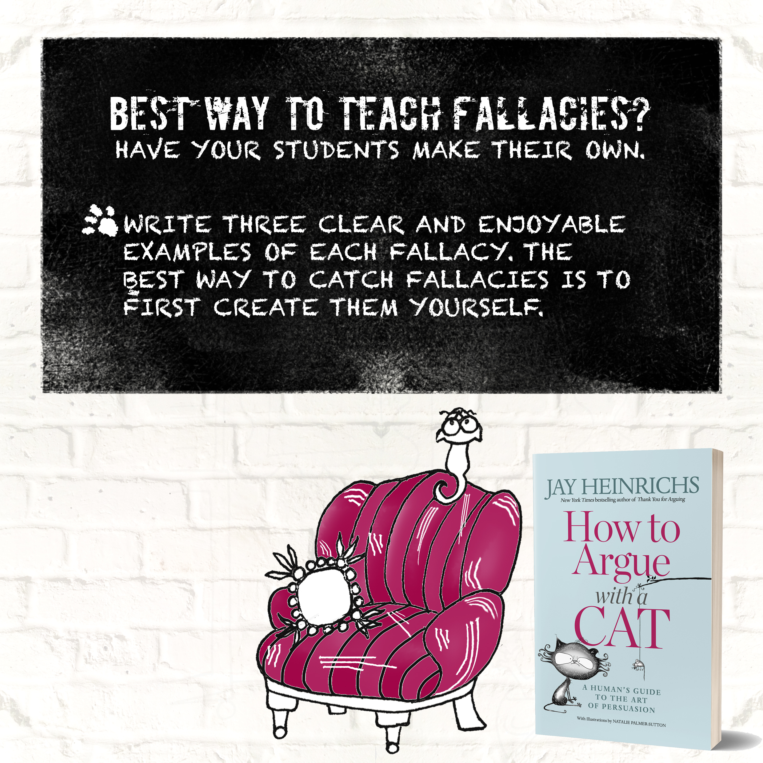 Creative Fallacies - What will your class come up with?Tell us your examples!